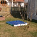 Homokozó takaró ponyva pvc